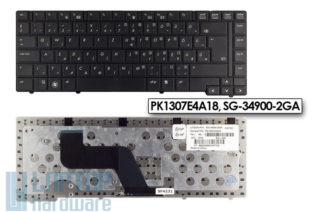 HP ProBook 6440b, 6445b, 6450b gyári új magyar laptop billentyűzet, PK1307E4A18