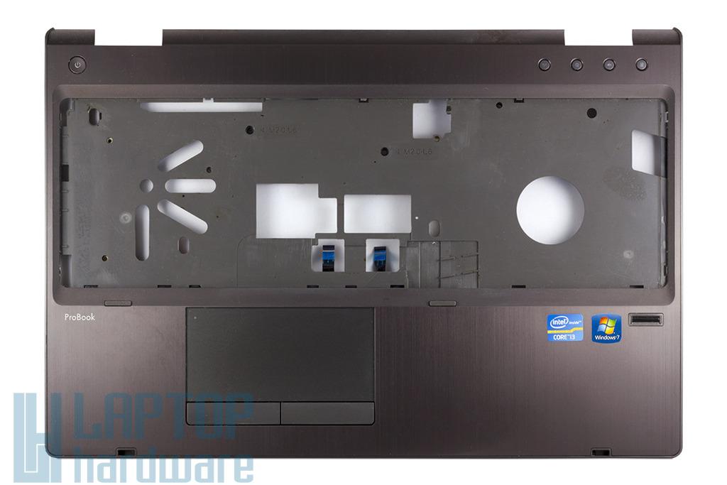 HP ProBook 6560b, 6565b laptophoz használt szürke felső fedél touchpaddel (641204-001)