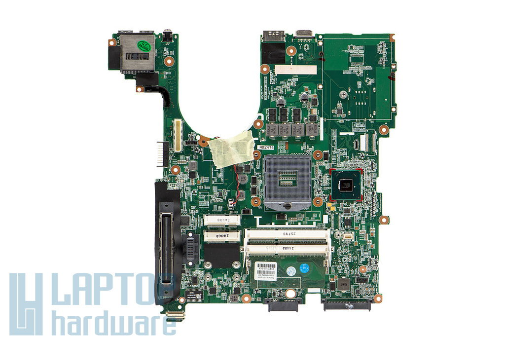 HP ProBook 6560b, EliteBook 8560p, Compaq 8560p, 8560w használt laptop alaplap (Intel) (646962-001)