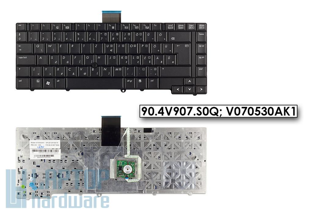 HP ProBook 6930b gyári új magyar laptop billentyűzet, track pointal, 90.4V907.S0Q