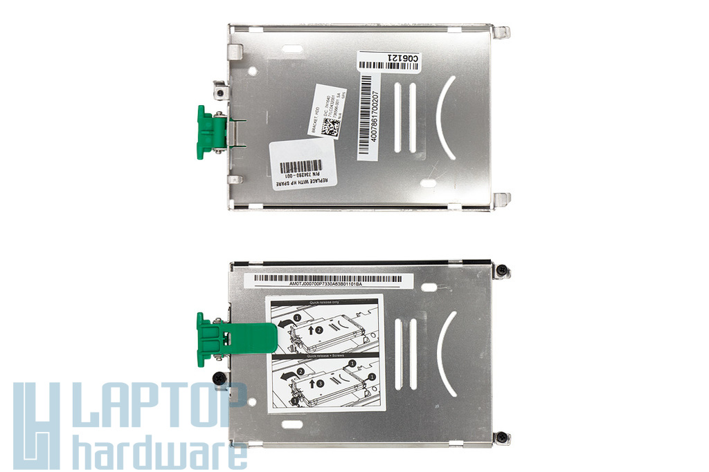 HP ZBook 15, 17 gyári új HDD beépítő keret (734280-001, 736566-001)