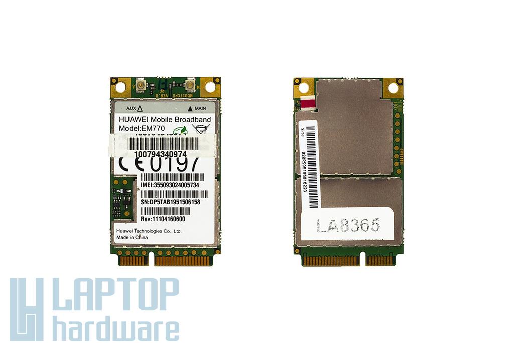 Huawei HSDPA 3G modem laptophoz (EM770)