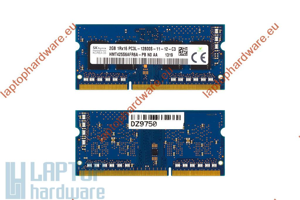 SK Hynix 2GB DDR3L 1600MHz gyári új low voltage memóra HP laptopokhoz