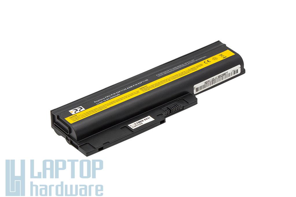 IBM Lenovo R500, R60, R61, SL500, T60 használt 60%-os helyettesítő 6 cellás laptop akku/akkumulátor