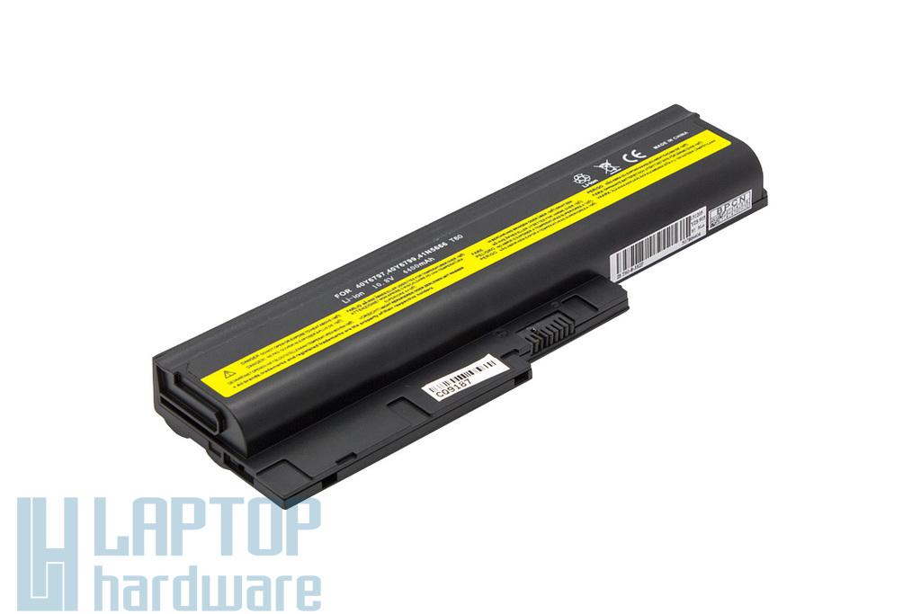 IBM Lenovo R500, R60, R61, SL500, T60 használt 80%-os helyettesítő 6 cellás laptop akku/akkumulátor