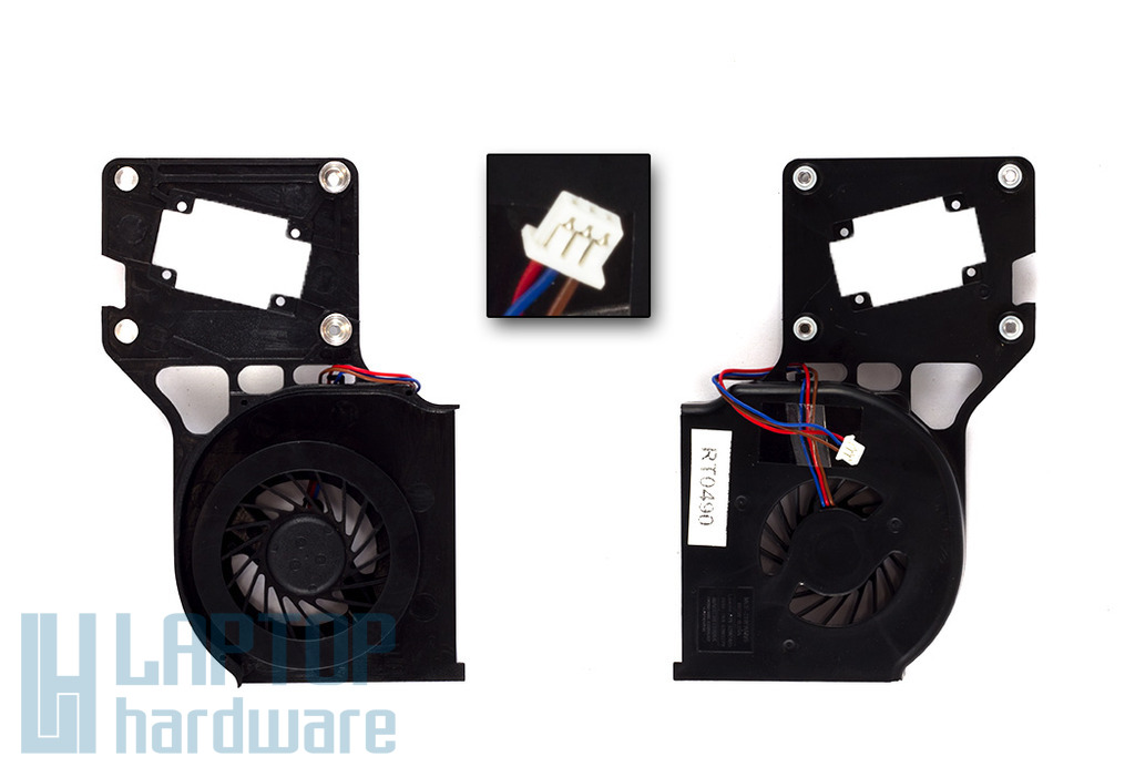 Lenovo R61, R61i, R61e gyári új laptop hűtő ventilátor (MCF-219PAM05, FRU 42W2779)