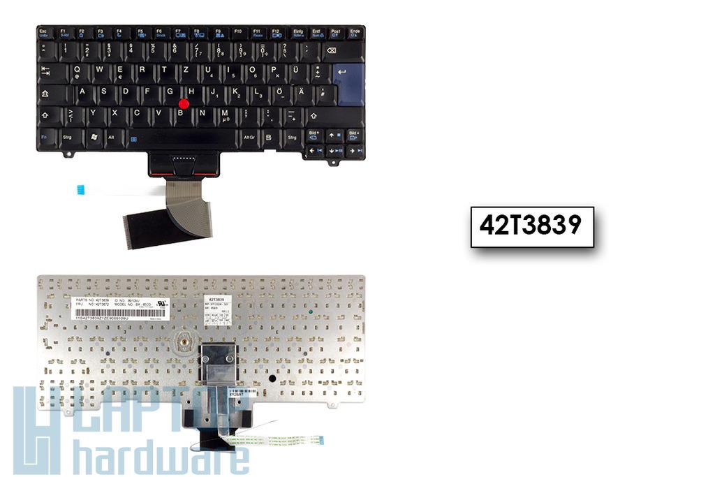 Lenovo SL300, SL400, SL500 használt német laptop billentyűzet (42T3839)