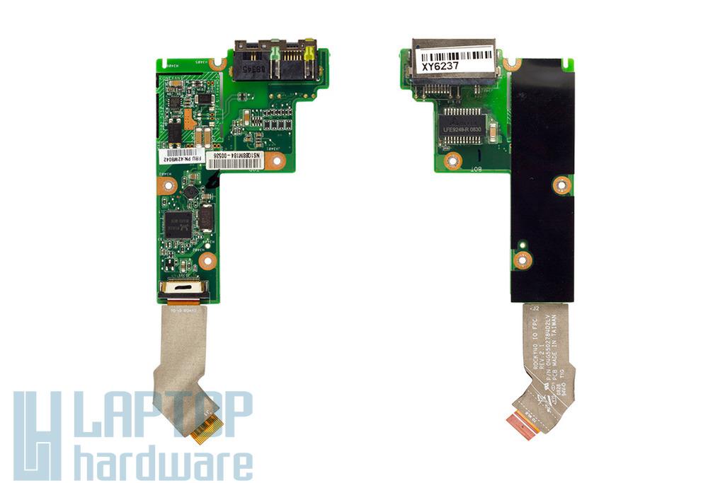 IBM Lenovo ThinkPad SL400, SL500 használt laptop LAN/modem csatlakozó panel (42W8042)