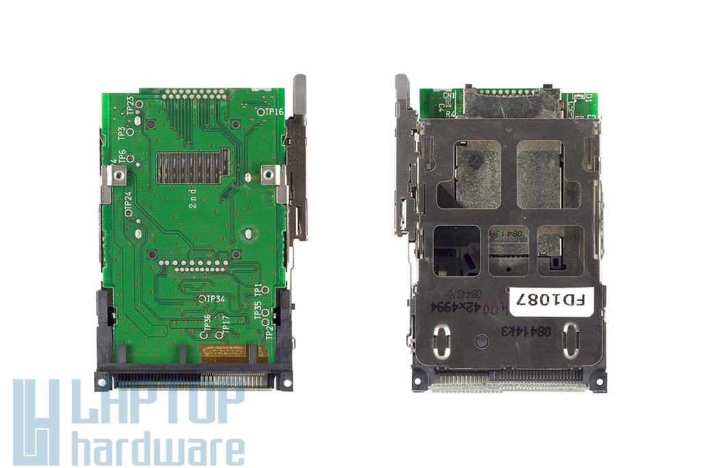 IBM Lenovo ThinkPad T60,T60p, T61,T400,R400,T500,R500,W500 laptophoz használt PCMCIA-EXPRESS CARD/Kártyaolvasó modul(42X4994)