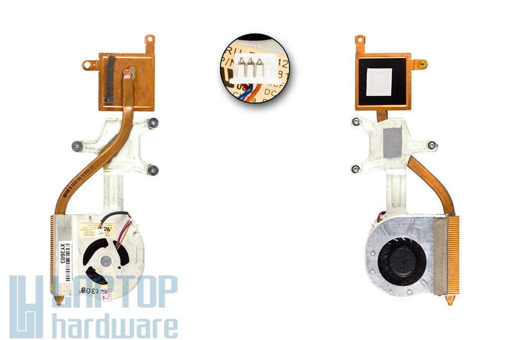 IBM Lenovo ThinkPad X61, X61s használt komplett laptop hűtő ventilátor (42X4399)