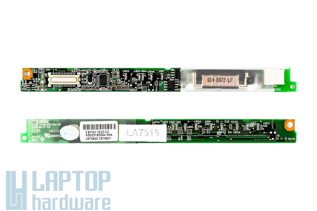 IBM ThikPad Z60, Z61 LCD inverter 39T5620, 39T5621