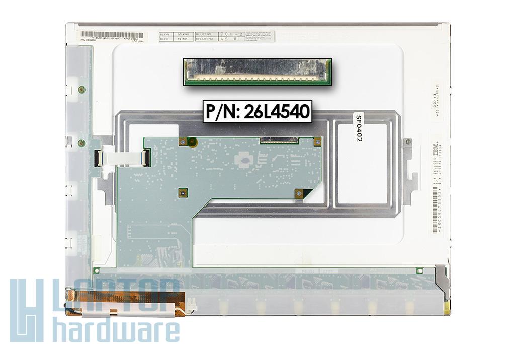 IBM Thinkpad 390E, 390X,1024x768 használt matt notebook kijelző.(26L4500)