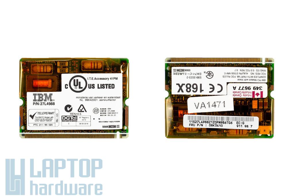 IBM ThinkPad 570, 570E laptophoz használt modem (08K3410, 08K3252)