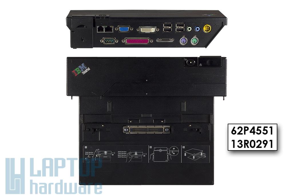 IBM ThinkPad A, T, R, X Gyári AT dokkoló, 62P4551, 13R0291