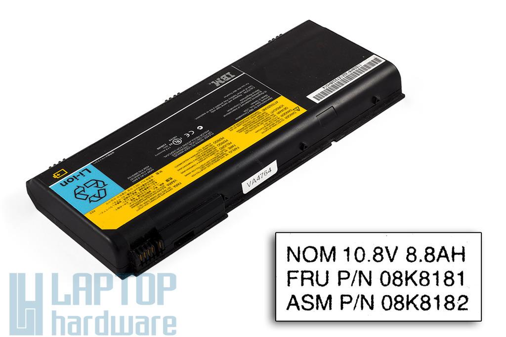 IBM ThinkPad G40, G41 használt 12 cellás 70%-os laptop akku/akkumulátor (FRU 08K8181)