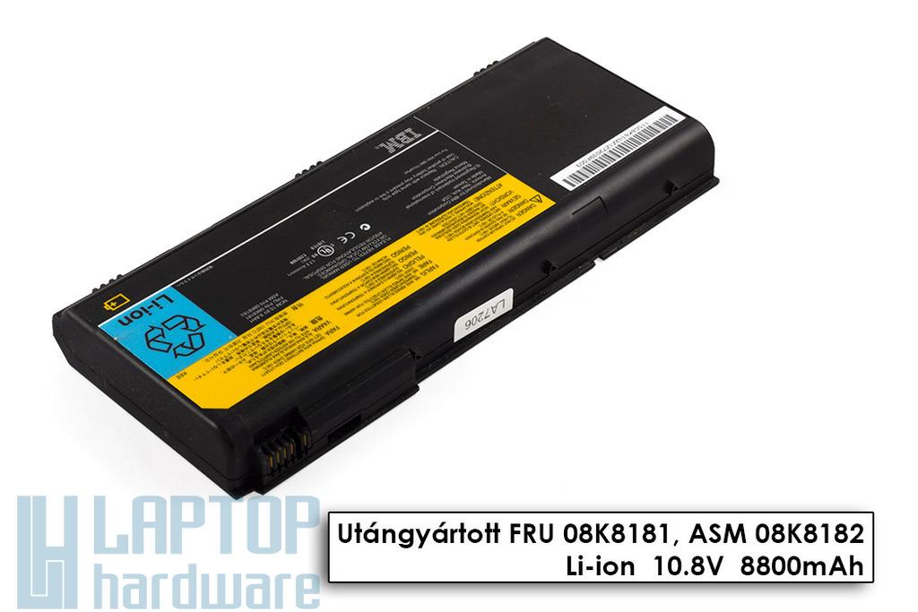 IBM ThinkPad G40, G41 használt 12 cellás 75%-os laptop akku/akkumulátor (FRU 08K8182)
