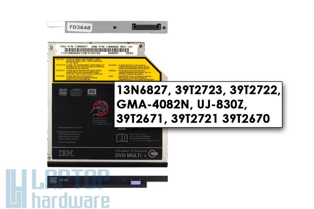 IBM ThinkPad R50, R51, R60, R61 használt notebook DVD Író, 13N6827