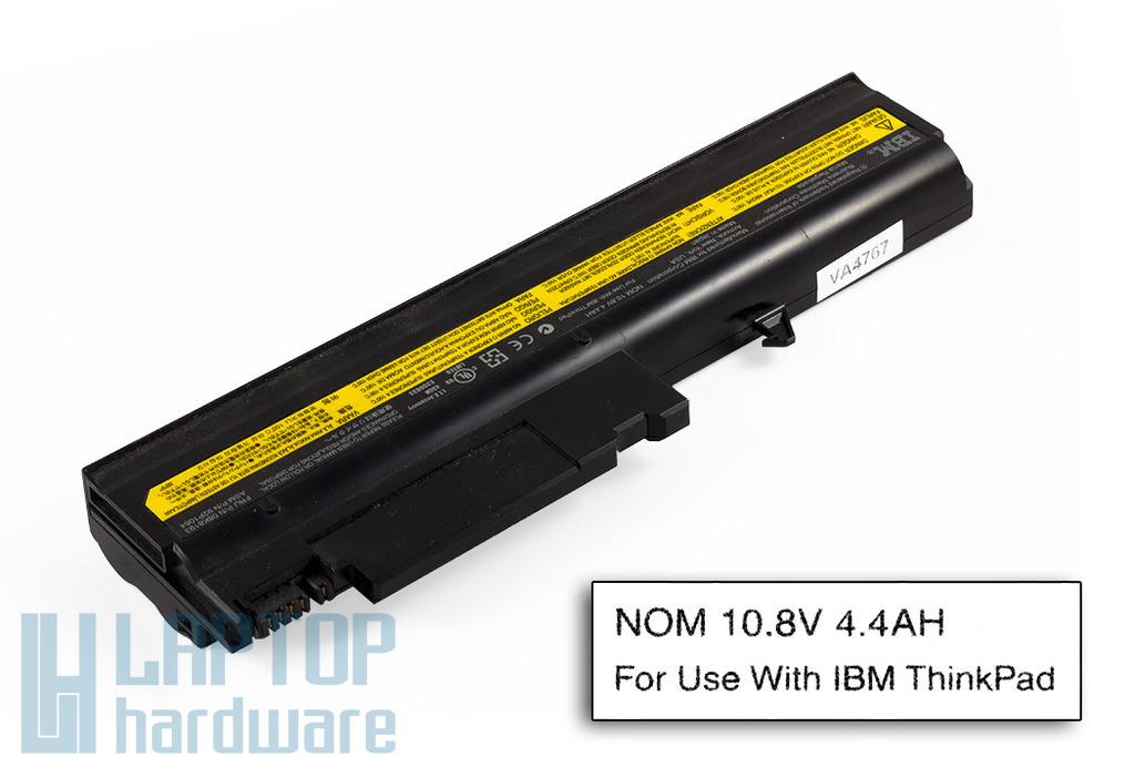 IBM ThinkPad R50, R51, T40, T41, T42, T43 használt 6 cellás 50%-os laptop akku/akkumulátor (FRU 08K8193)
