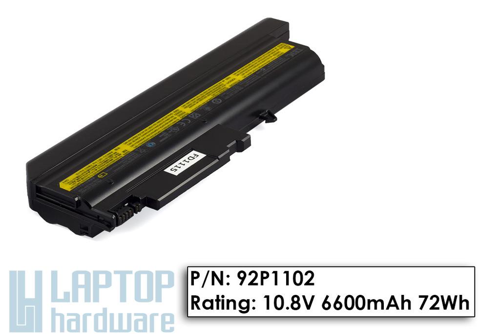 IBM ThinkPad R50, T40, T43 gyári új 9 cellás laptop akku/akkumulátor (92P1102)