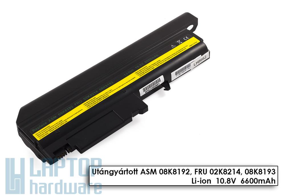 IBM ThinkPad R50, T40, T43 helyettesítő új 9 cellás laptop akku/akkumulátor (08K8192, 02K8214)