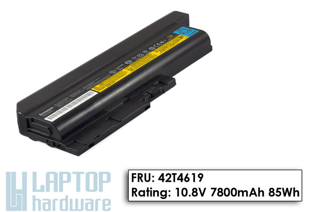 IBM ThinkPad R60, T60 használt 9 cellás 60%-os laptop akku/akkumulátor (FRU 42T4619)