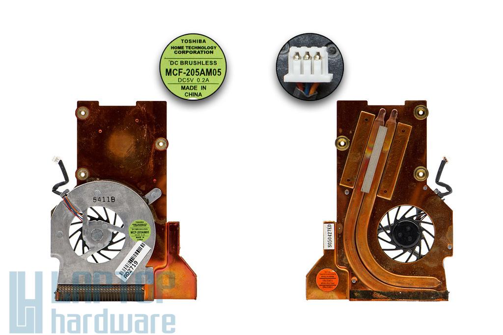 IBM ThinkPad T40, T41, T42 használt hűtő ventilátor (13R2761, 13R2760)