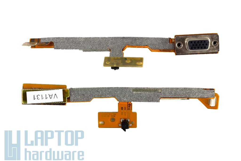 IBM Thinkpad T40, T41, T42 laptophoz használt VGA kábel, csatlakozó, kiadás érzékelő (91P6788)