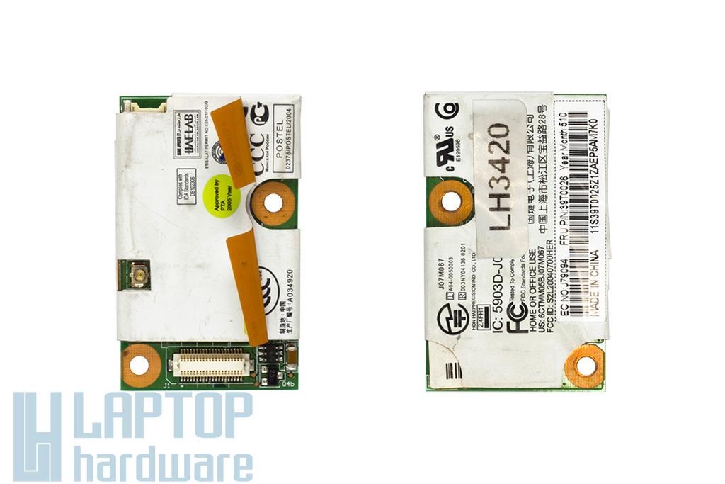 IBM ThinkPad T43, X32 laptophoz használt bluetooth, 56K FM modul (39T0026)