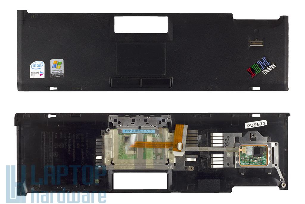 IBM Thinkpad T60, T60p használt felső fedél touchpaddel, ujjlenyomat olvasóval (26R9377)