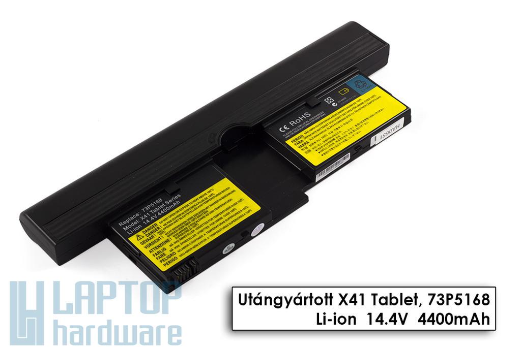 IBM ThinkPad X41 Tablet helyettesítő új 8 cellás laptop akku/akkumulátor (FRU 73P5168)