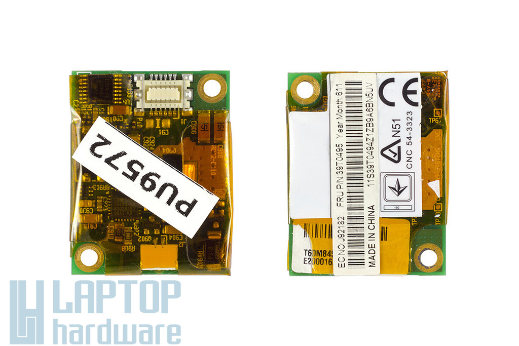 IBM Thinkpad Z60, T60, R60, R61 laptophoz használt 56K modem (39T0495)