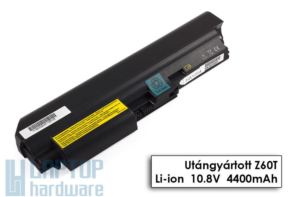 IBM/Lenovo ThinkPad Z60t, Z61t helyettesítő új 6 cellás laptop akku/akkumulátor (92P1125, 92P1126)