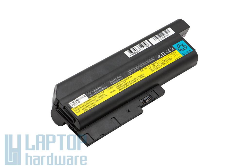 IBM/Lenovo R500, R60, R61, SL500, T60 helyettesítő új 12 cellás laptop akku/akkumulátor (FRU 92P1139)