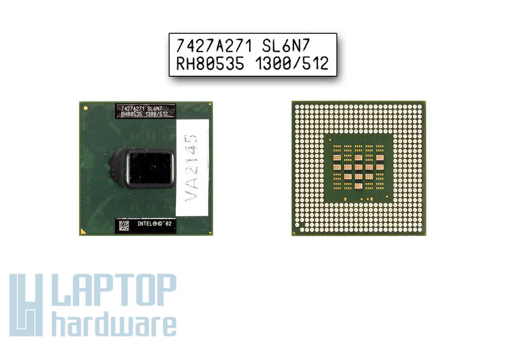 Intel Celeron M320 1300MHz használt laptop CPU (SL6N7)