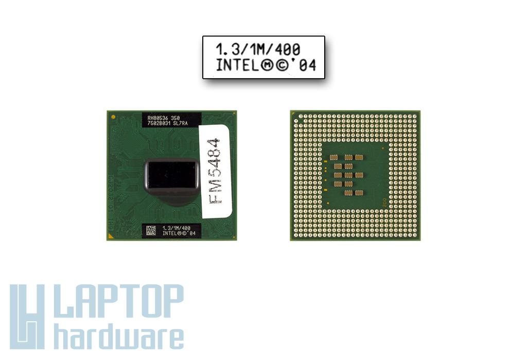 Intel Celeron M350 1300MHz használt laptop CPU (SL7RA)