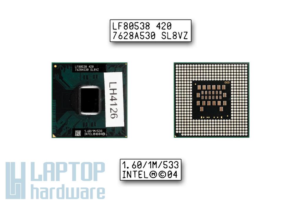 Intel Celeron M420 1600MHz használt laptop CPU