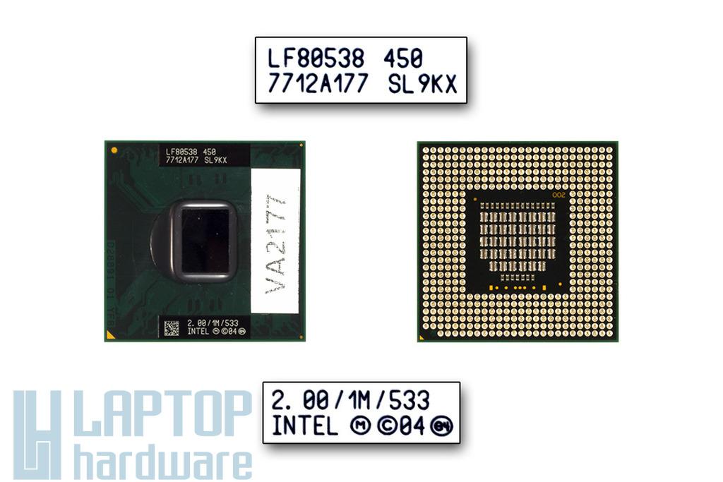 Intel Celeron M450 2000MHz használt laptop CPU