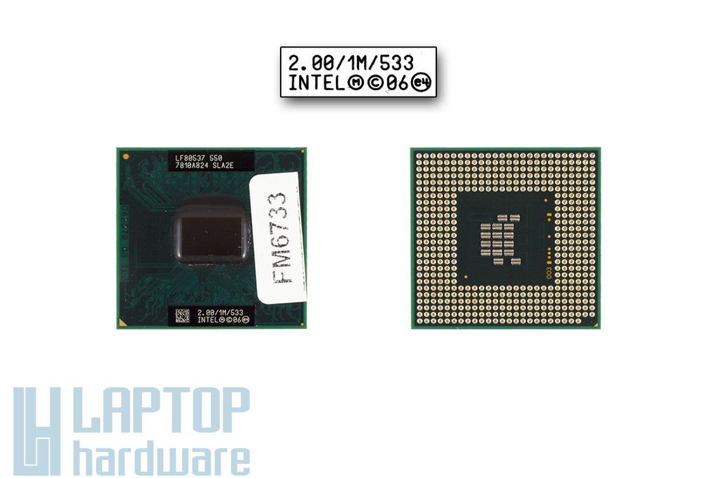 Intel Celeron M550 2000MHz használt laptop CPU (SLA2E)