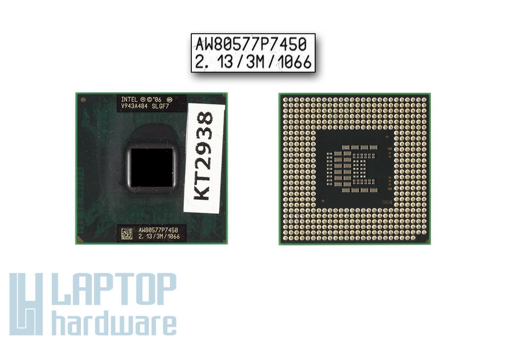 Intel Core 2 Duo P7450 2133MHz használt laptop CPU (SLGF7)