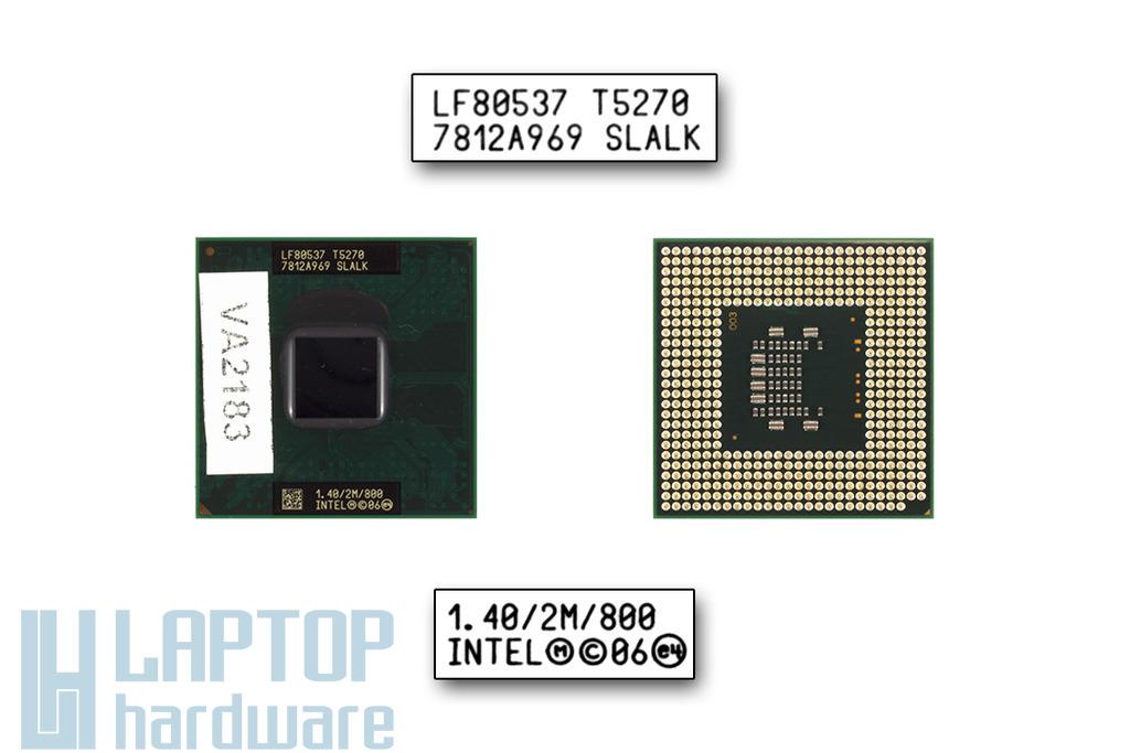 Intel Core 2 Duo T5270 1400MHz használt laptop CPU