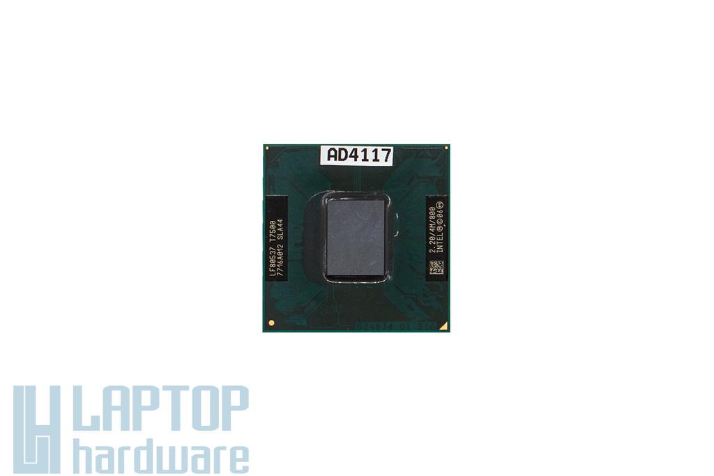 Intel Core 2 Duo T7500 2200MHz használt laptop CPU (SLA44)