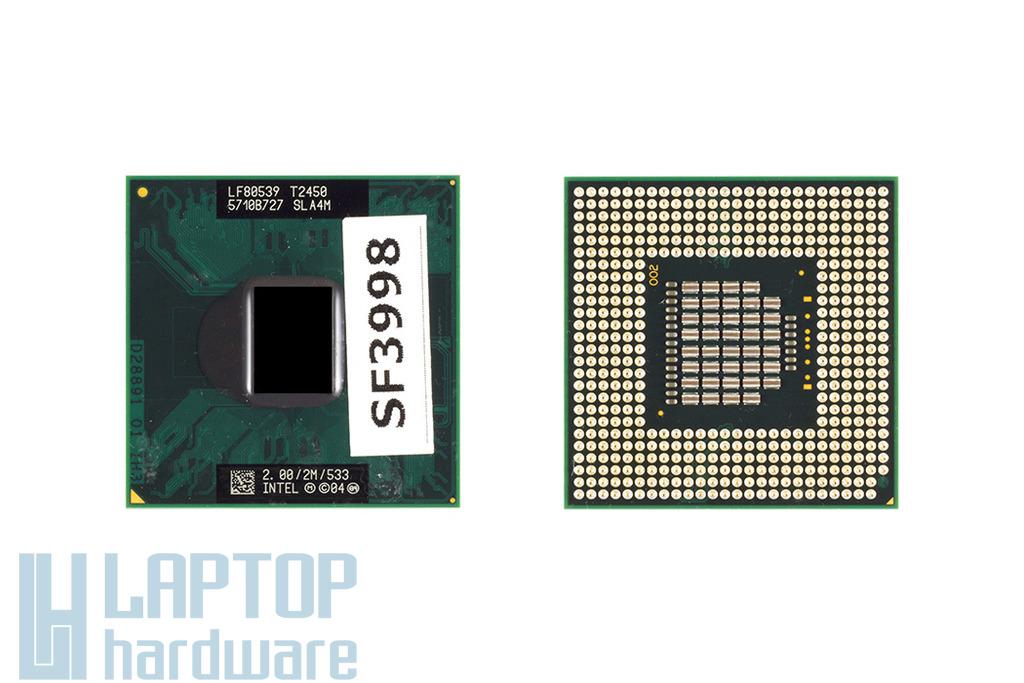 Intel Core Duo T2450 2000MHz használt laptop CPU (SLA4M)