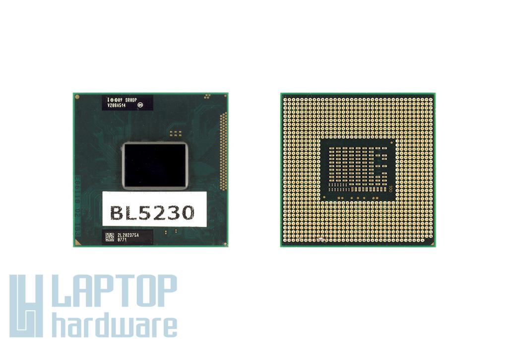 Intel Core i3-2370M 2400MHz használt laptop CPU (SR0DP)