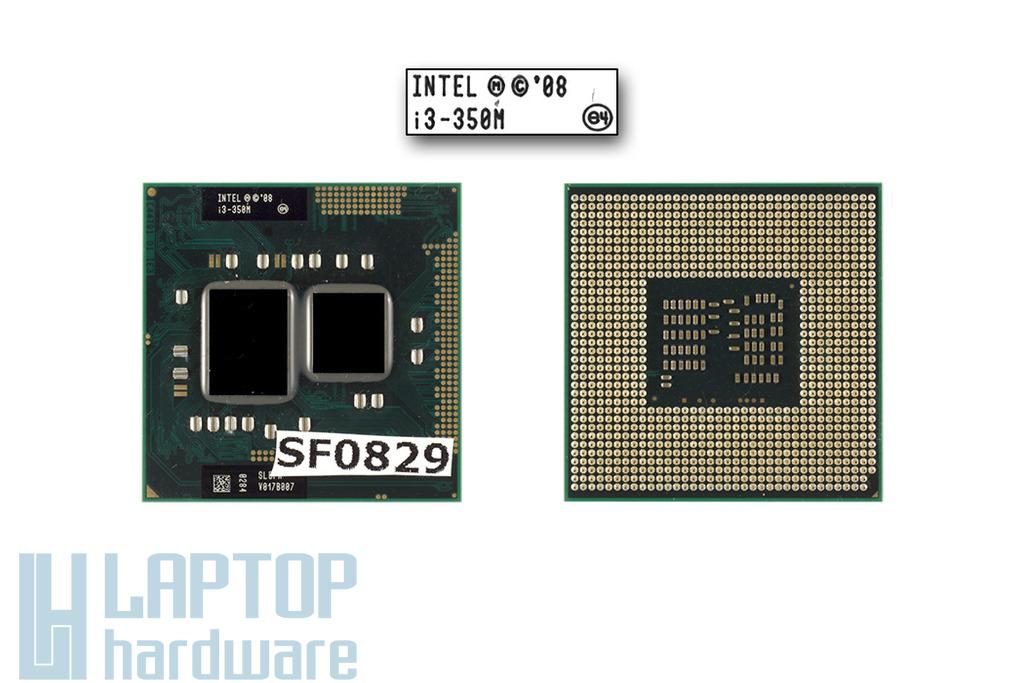 Intel Core i3-350M 2533MHz használt laptop CPU (SLBPK, SLBU5)