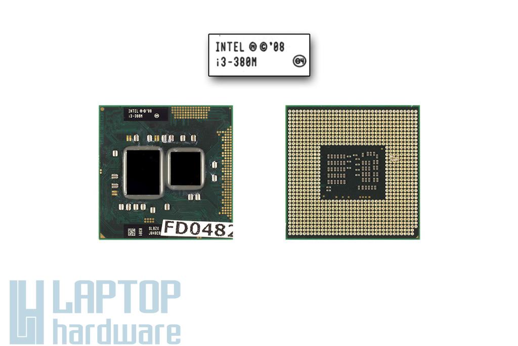 Intel Core i3-380M 2533MHz gyári új laptop CPU (SLBZX)