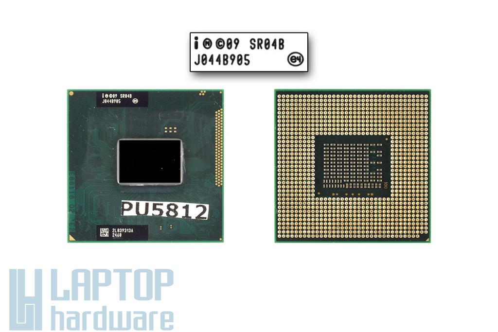 Intel Core i5-2410M 2300MHz használt laptop CPU, SR04B