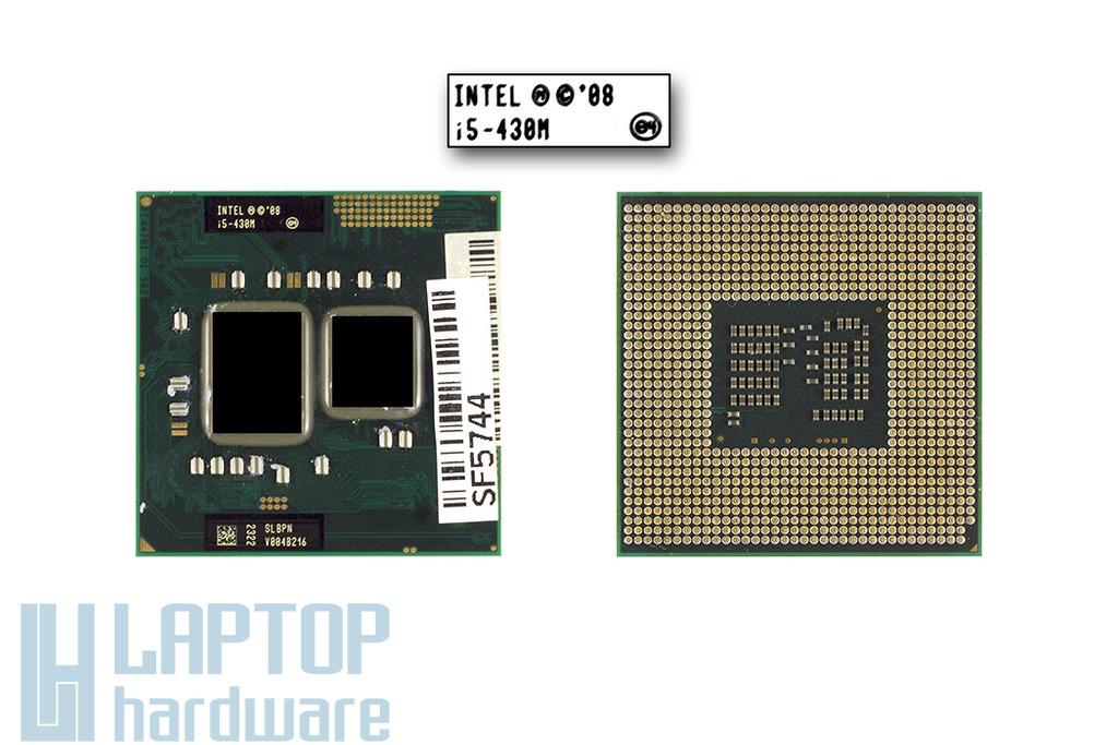 Intel Core i5-430M 2267MHz használt laptop CPU, SLBPN