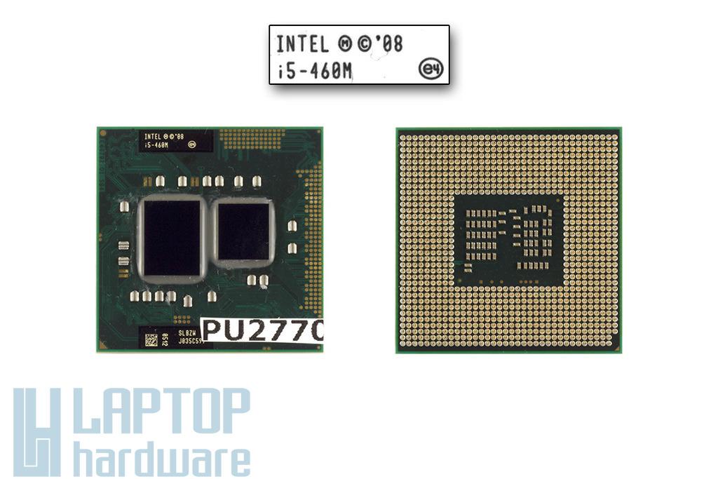 Intel Core i5-460M 2533MHz használt laptop CPU, SLBZW