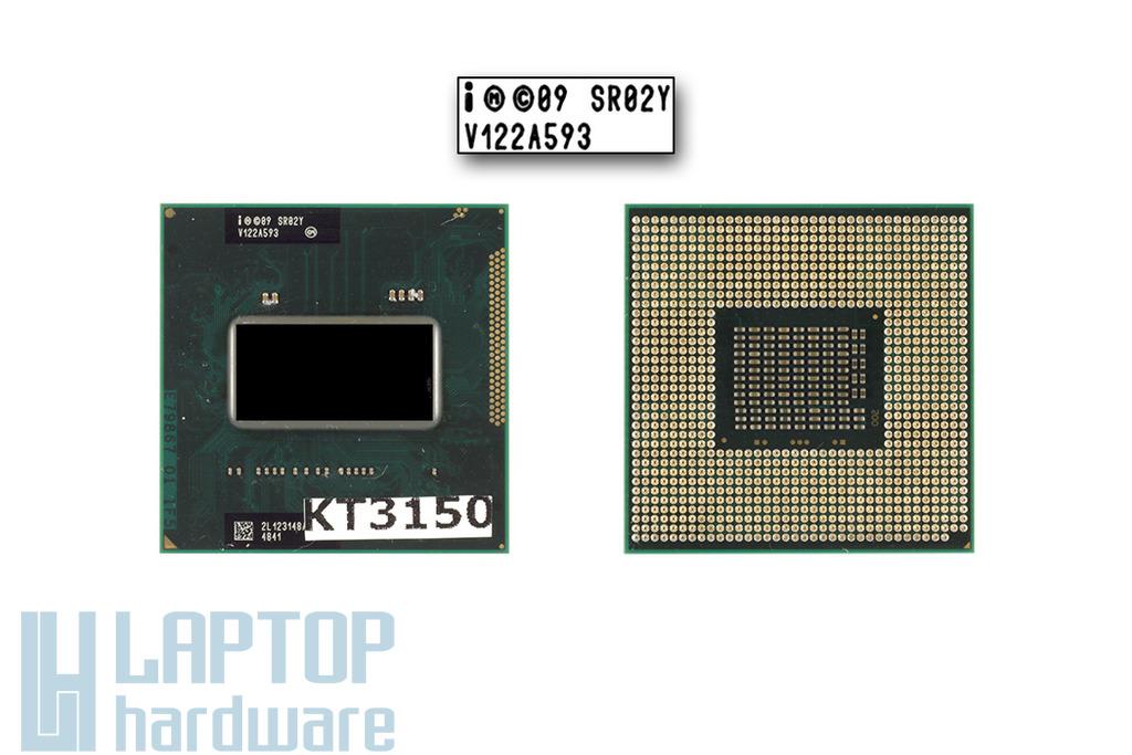 Intel Core i7-2630QM 2000MHz (Turbo: 2900MHz) használt laptop CPU, SR02Y