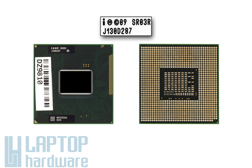 Intel Core i7-2640M 2800MHz (Turbo: 3500MHz) használt laptop CPU, SR03R